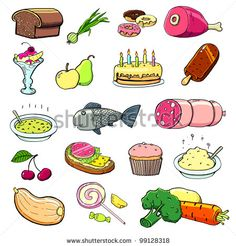 Cartoon Food