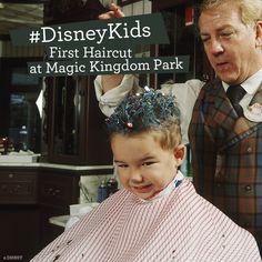 First Haircut at Magic Kingdom Park #DisneyKids