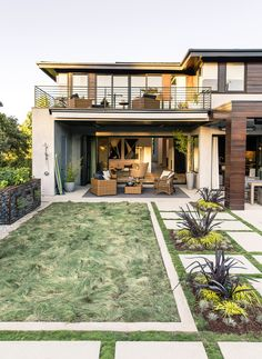 California modern house plans - Are you in construction tanks? House Layout Plans, Modern House Plans, House Layouts, Modern House Design, Outdoor Rooms, Outdoor Living, Outdoor Seating, Good House, Beach House Decor