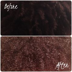 Cinnamon hair lightening mask. Before and after ! Plus makes your hair feel and smell amazing (: