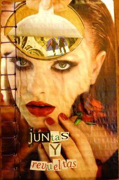 Poemario Juntas y Revueltas | Libros Cartoneros | La Joyita Cartonera | handmade books | cardboard | poetry | by Nena Monsalve
