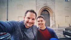#SocialAroundTheWorld with David (@PusetaAntunes) in #Xativa.  It's David that brought me up to speed with the history of Xativa and I very much enjoyed exploring the city with him. Cool and knowledgeable guy!  Hit him up if you're ever visiting Xativa. He'll be happy to show you around. Find his Twitter handle next to his name and don't forget to say hello from me ;-) #ValenciaChallenge #ValenciaTurisme