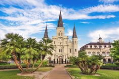19 Most Beautiful Places to Visit in Louisiana - Page 3 of 18 - The Crazy Tourist Beautiful Places To Visit, Cool Places To Visit, Places To Travel, Beach Honeymoon Destinations, Travel Destinations, Honeymoon Ideas, St Louis Cathedral, Honeymoon Inspiration, Visit New Orleans