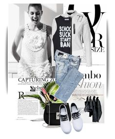 """""""Untitled #1301"""" by maja-k ❤ liked on Polyvore featuring мода, Revlon, Chloé и Miss Sixty"""