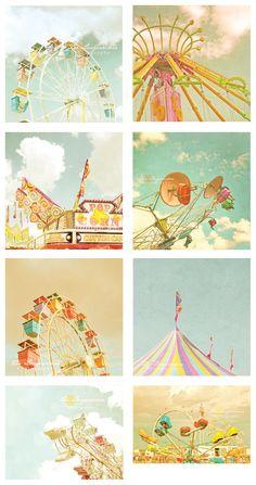 by Zee Longenecker, Would be great prints in a nursery
