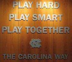 UNC Basketball — Play Hard Play Smart Play Together The Carolina. Basketball Quotes, Basketball Teams, College Basketball, Carolina Pride, Carolina Blue, North Carolina, Carolina Girls, Unc Tarheels, Sports Memes