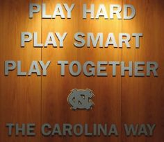 It was meant to be! This was the saying for basketball my sophomore year!