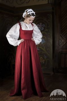 Medieval Central Europe Traditional Costume XVI by armstreet