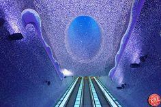 A Napoli è la stazione della metro più bella del mondo - Yahoo Notizie Italia