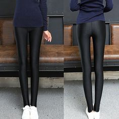 95d419c17cf14 Women Sexy Slim Skinny Faux Leather Stretchy Pants Leggings Pencil Tight  Trouser #fashion #clothing