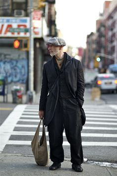An Unknown Quantity | New York Fashion Street Style Blog by Wataru Bob Shimosato | ニューヨークストリートスナップ