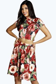 LILLY ROSE PRINT CO-ORD SET