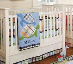 sea turtle baby bedding | Turtle Nursery Bedding Set | Pottery Barn Kids | Shop kids,parenting ...