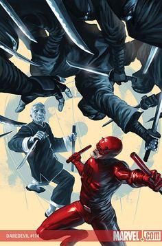 Daredevil #114 by Marko Djurdjevic