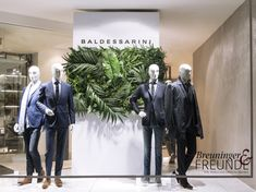 """BALDESSARINI, (Breuninger) , Stuttgart, Germany, """"Lost in the Tropical Jungle"""", creative by DFROST, pinned by Ton van der Veer"""