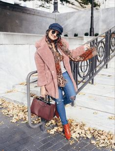 71c0a0409c59 How to wear leopard scarf in stylish ways | The Leopard Print Trend  featured by popular