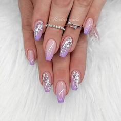 50 Pretty Nail Design Easy 2019 - Fashion & Glamour Trends 2019 - Katty Glamour Gelish Nails, Diy Nails, Nude Nails, Nail Art Diy, Cool Nail Art, Pretty Nail Designs, Simple Nail Designs, Nail Art Designs, Holiday Nails