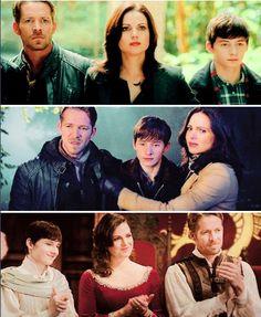 Regina Mills AKA Evil Queen & Henry Mills & Robin Hood ---> The Mills-Hood Family