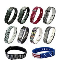 10pcs Large L Colorful Replacement Bands With Clasps for