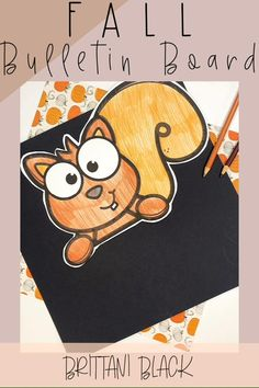 Are you looking for crafts, lessons, ideas or activities for this Fall?  Your students will love this squirrel topper that comes with a name craft in which students spell his/her name.  Writing paper is also included along with 2 sets of bulletin board letters.  This craft makes an adorable display for hallways, classroom doors or bulletin boards once completed.  These activities are best suited for students in PreK, Kindergarten, First or Second grades.