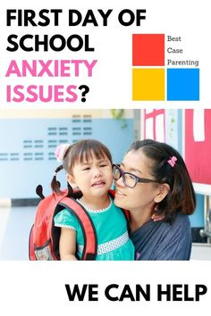 Need help with school anxiety in children? Here are our tips to give relief to that first day of school! Parenting Issues, Parenting Memes, Parenting Advice, First Day School, School Fun, Types Of Parenting Styles, Boys Life, Anxiety In Children