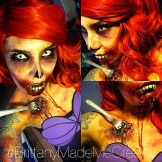 zombie mermaid makeup - Google Search