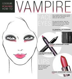 Easy vampire makeup tutorial