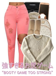 """""""."""" by trillestqueen ❤ liked on Polyvore featuring Chanel, MICHAEL Michael Kors, UGG Australia and Sandro"""