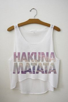 HAKUNA MATATA WHAT A WONDERFUL PHRASE! IT MEANS NO WORRIES FOR THE REST OF YOUR DAYS! Lol haaa xx~Rachel