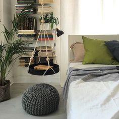 WEBSTA @ mommodesign - Ikea hack: hanging side table using Användbar tray…