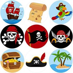 Pirate Themed First Birthday Party Food and Drink Ideas - Kid Transit Pirate Decor, Pirate Theme, Birthday Party Favors, First Birthday Parties, Anniversaire Wonder Woman, Caribbean Party, Pin Up Drawings, Pirate Birthday, Preschool Art