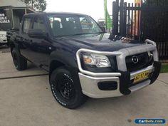 2007 Mazda BT-50 B3000 DX (4x4) Blue Manual 5sp M Dual Cab Pick-up #mazda #bt50 #forsale #australia