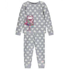 Heart print two-piece pyjamas / Pyjama deux pièces à motif cœurs, Souris Mini