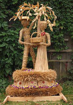 Beautiful Landscape Wallpaper, Beautiful Landscapes, Corn Dolly, Corn Husk Dolls, Bouquet, Thanksgiving Crafts, All Art, Wicker, Decoration