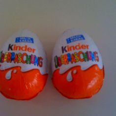 Kinder Surprise! Best chocolate ever
