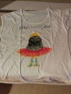 Fancy owl Tshirt