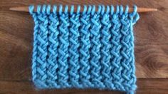 How to Knit the Slip Knit Yarn Over Pass Stitch (SKYP)
