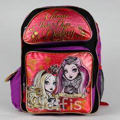 Jelfis.com - Ever After High Large Backpack - Destiny 16' Girls School Book Bag Raven Apple, $17.99 (http://www.jelfis.com/ever-after-high-large-backpack-destiny-16-girls-school-book-bag-raven-apple/)