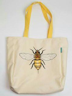 Canvas B bag by Jolinda