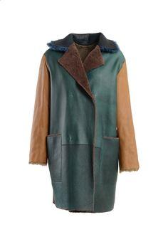 Sofie d'Hoore SOFIE D'HOORE Leather and faux-fur coat - Shout