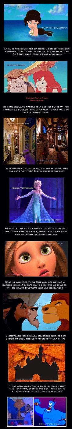 Dump A Day Want To Annoy Your Friends With Fun Disney Facts? You're In Luck - 18 Pics