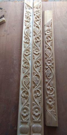 House Main Door Design, Single Door Design, Wooden Front Door Design, Wood Bed Design, Pooja Room Door Design, House Ceiling Design, Wooden Front Doors, Cornice Design, Temple Design For Home
