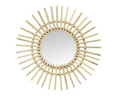 Miroir, naturel - Ø55 45€