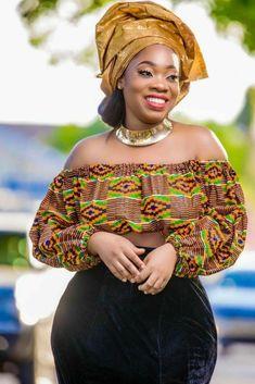 Moesha Boduong in kente dress African Print Dresses, African Print Fashion, African Fashion Dresses, African Dress, African Prints, African Tops, African Women, African Attire, African Wear