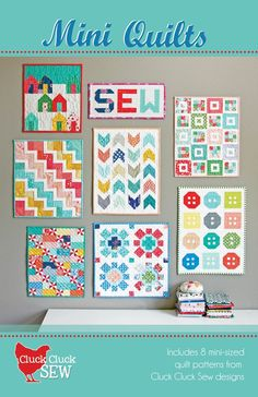Mini Quilts Patterns by Cluck Cluck Sew