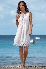 White Summer Beach Dresses