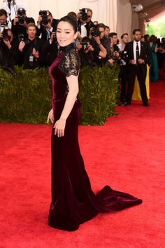 Gong Li. See all the looks from the 2015 Met gala.