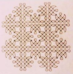 Collection of advanced pulli kolam designs suitable for various occasions especially for the season of kolams - Margazhi. Indian Rangoli Designs, Small Rangoli Design, Rangoli Designs With Dots, Rangoli Designs Images, Rangoli With Dots, Beautiful Rangoli Designs, Simple Rangoli, Mehandi Designs, Rangoli Patterns