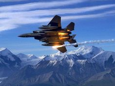 U.S. Air Force F-15 Eagle, nice shot