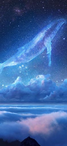 Cetacean sky dream only beautiful Wallpapers for iPhone X, iPhone XS and iPhone XS Max - Free Wallpaper | Download Free Wallpapers